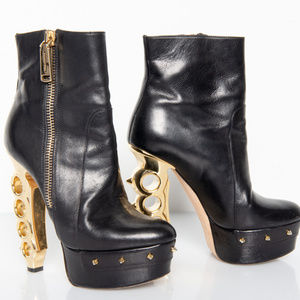 Dsquared2 Knuckle Duster Heel Ankle Boots